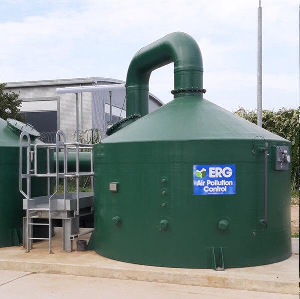 Riverside carbon filter