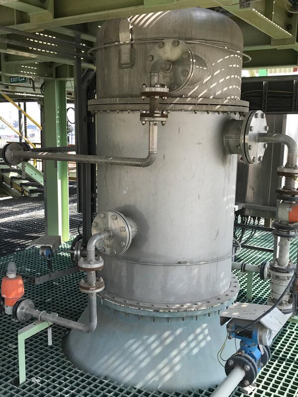 Flue gas treatment quench