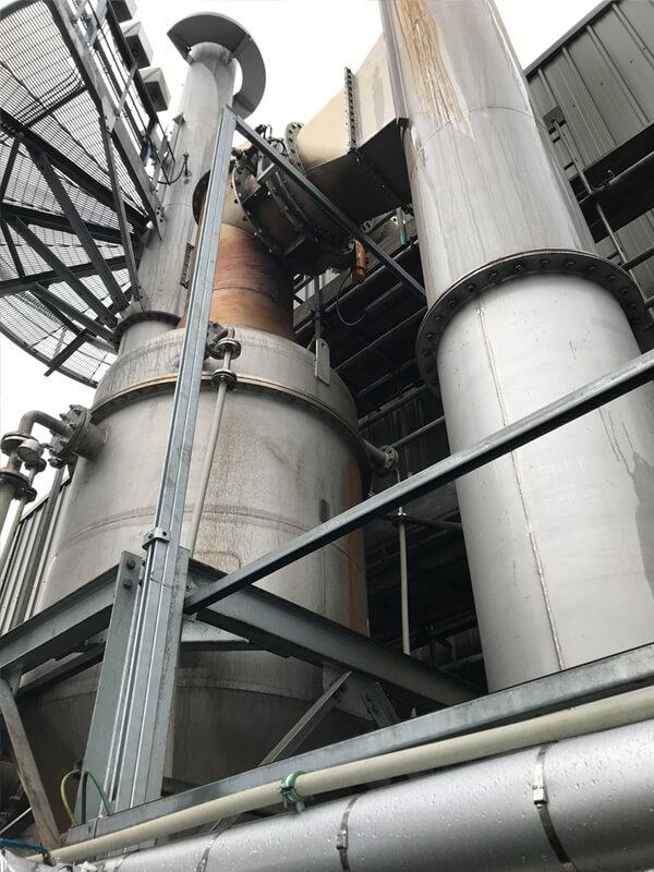 CPL flue gas quench