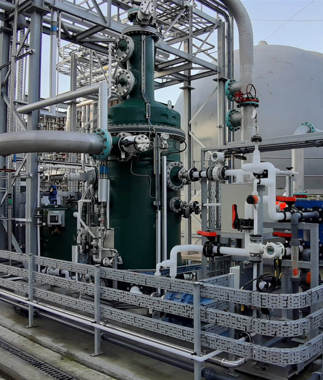 Crossness AER syngas