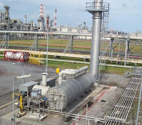 Waste oil oxidiser 1